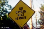 My favorite funny sign. Take a deep breath.